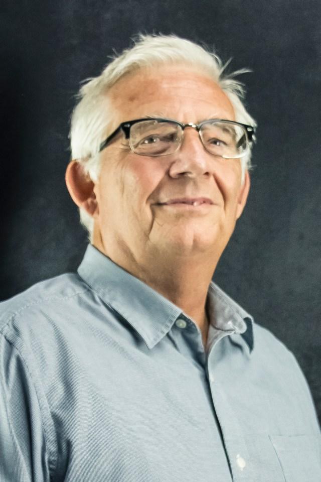 Portrait of Frank Rogers