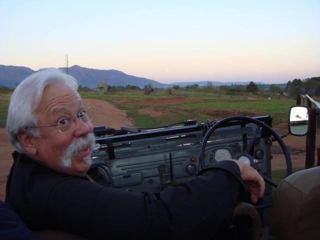 Joe on Safari Driving