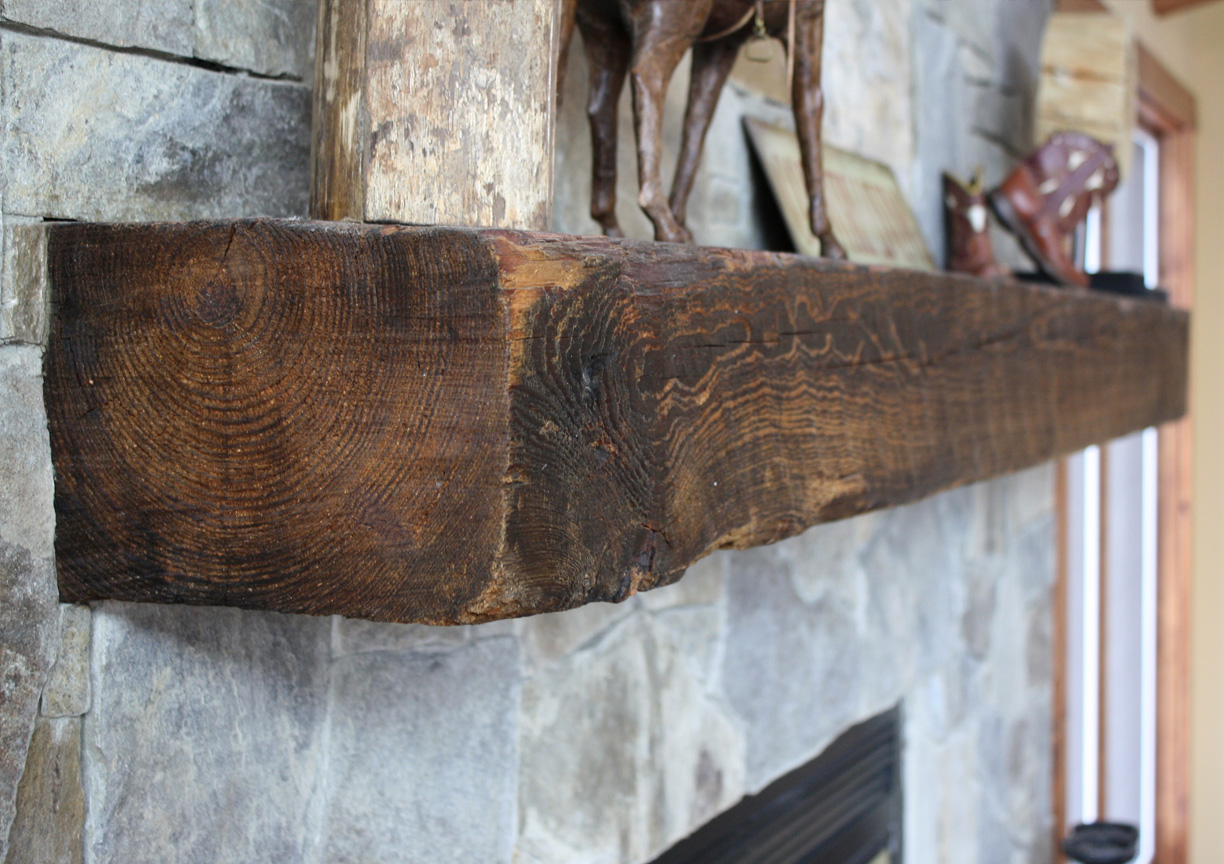 Reclaimed Wood Fireplace Mantels For Sale