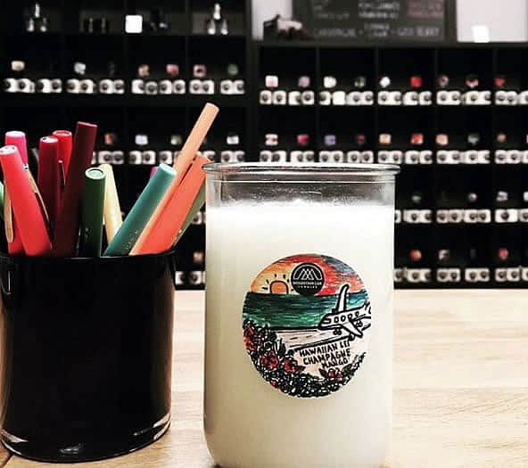 Come in today to pour a candle with a custom fragrance, designed by you.