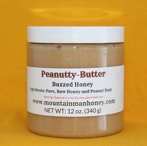 Peanutty Butter Buzzed Honey