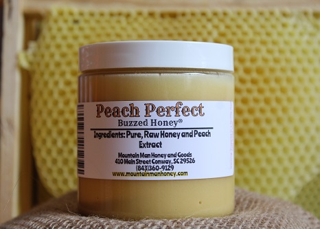 Peach Perfect Buzzed Honey