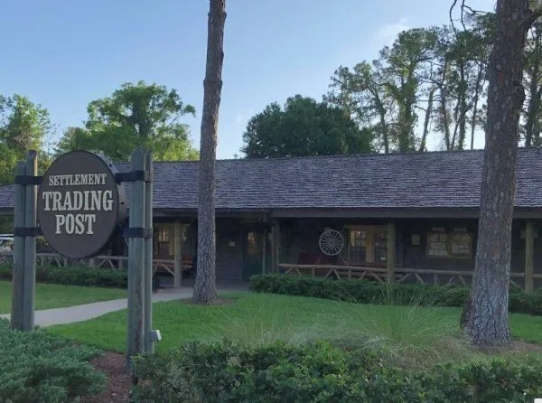 Disney's Fort Wilderness Trading Post building