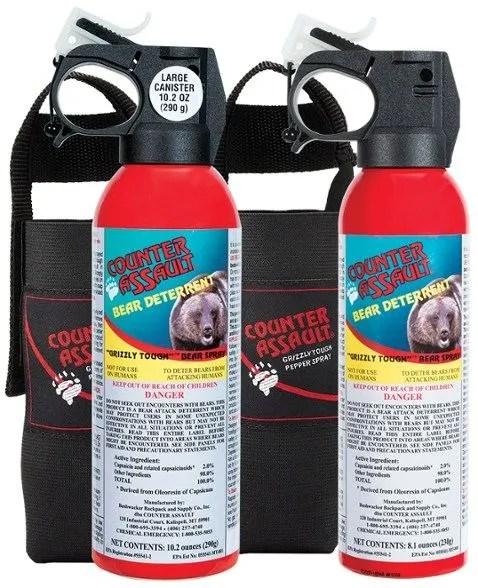 counter assault bear spray