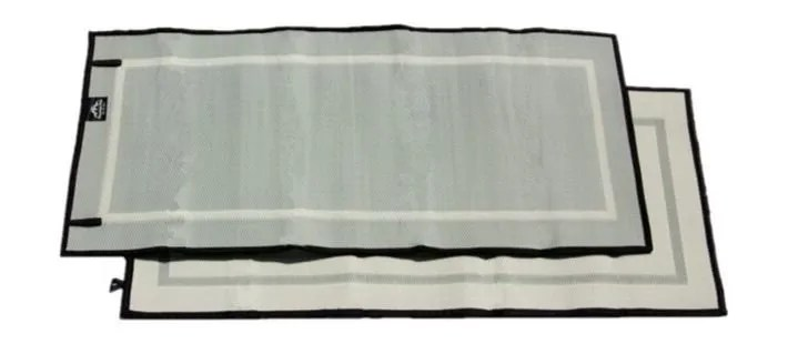mountain mat solo size 3x6 gray mist