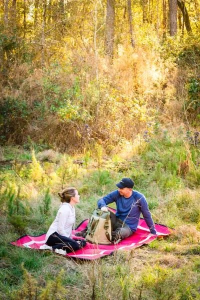 Mountain Mat picnic in the wild wilderness eco-friendly recycled plastic waterproof picnic blanket