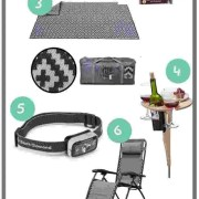 Pinterest Pin for mountain mat blog post best camping gifts