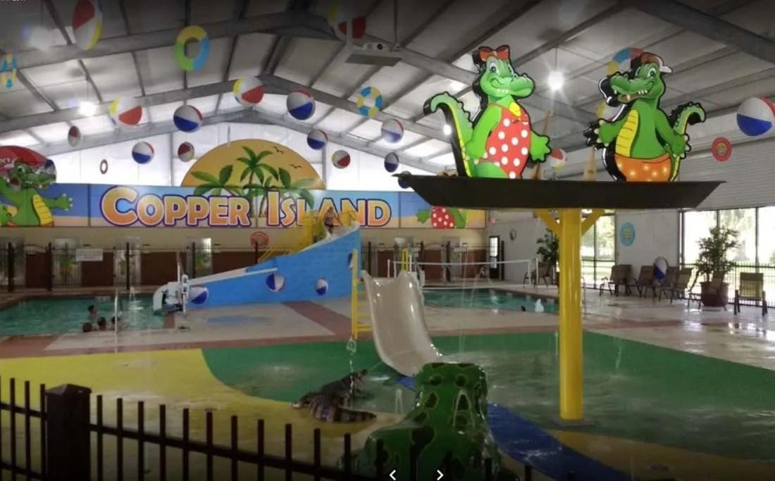 Splash pool for kids