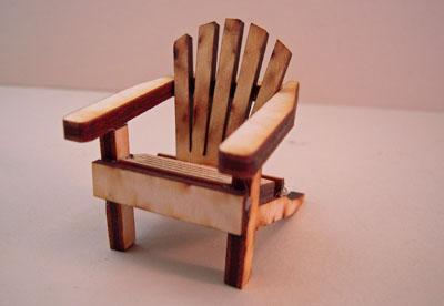 unfinished adirondack chair swing with stand pepperfry wooden 1 24 scale tm010uf jpg
