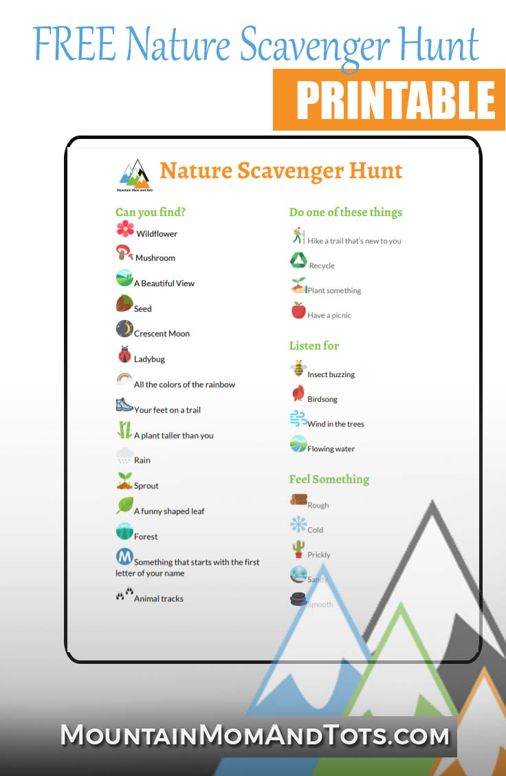 image about Nature Scavenger Hunt List Printable known as Cost-free Character Scavenger Hunt Printable - March Into Character