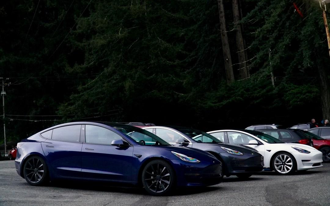 California Trip 2 – Tesla Meetup At Alice's Restaurant