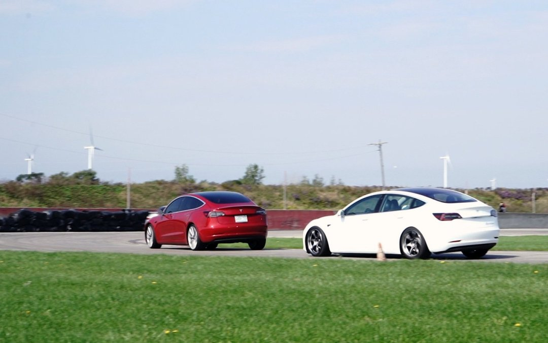 We Track Test The P3D Against Our Model 3. Who Wins?