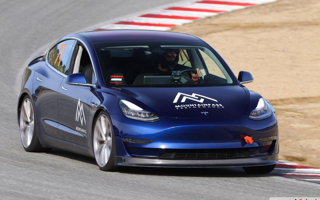 Cameron Grabs EV Production Car Lap Record With MPP Tuned P3D