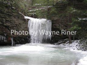 Little Stoney Falls in February