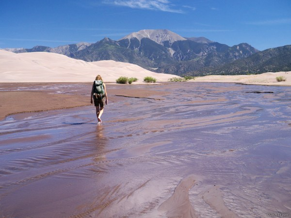 Dunes and Sangres Mountain Photographer a journal by