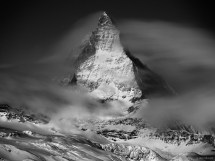 Black and White Photography Mountain