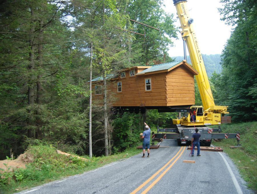 Modular log cabins rv park model log cabins 1 mountain for Modern log cabins for sale