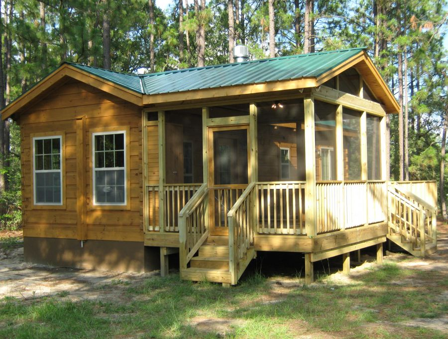 Modular log cabins rv park model log cabins 2 mountain for Log cabin for two