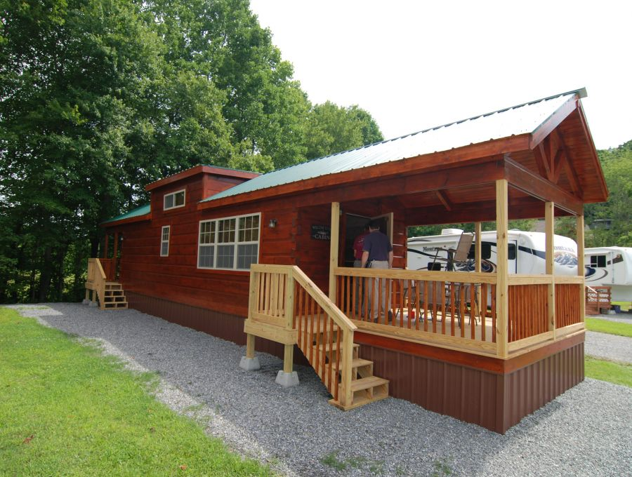Modular log cabins rv park model log cabins 2 mountain for Custom cottages for sale