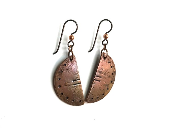 Relic Copper Earrings