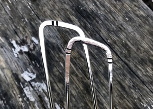 Sterling Silver Hair Pins