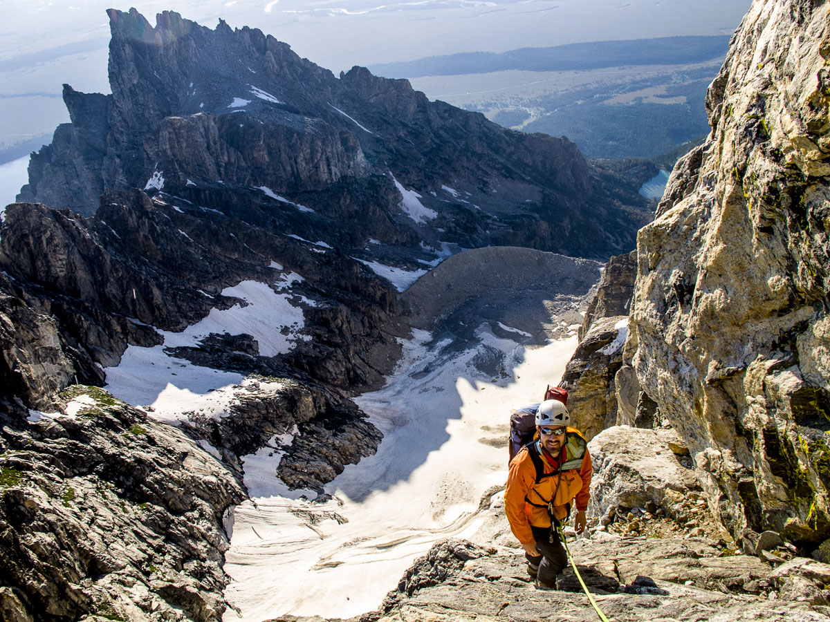 Mountaineering in the Tetons