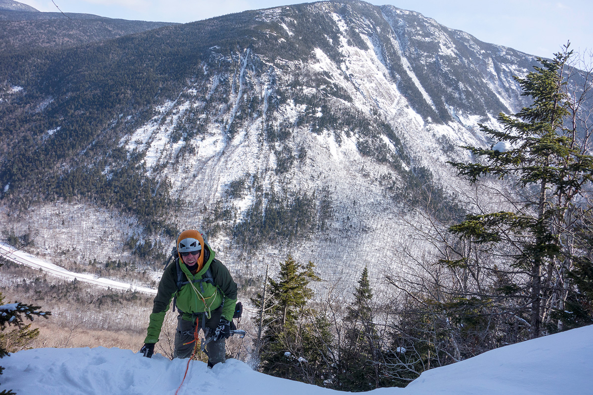 Ice Climbing in Crawford Notch