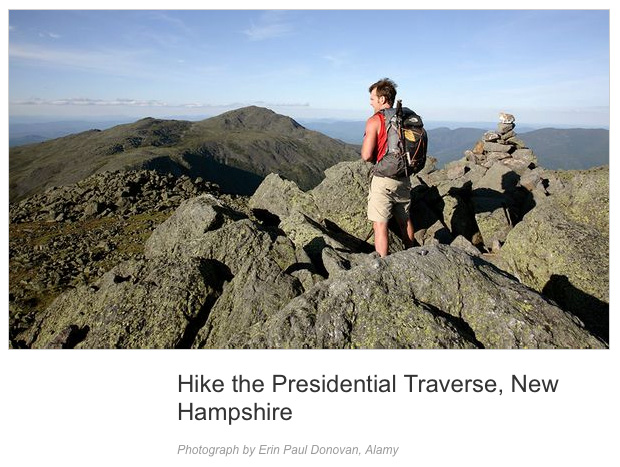 Presidential Traverse - National Geographic Adventure
