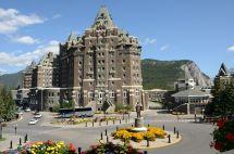 Banff Springs Hotel Van Horne Statue
