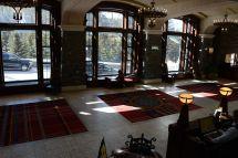 18c Banff Springs Hotel Entrance Reception Lobby