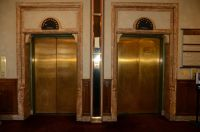 30 Banff Springs Hotel Historic Elevator Doors
