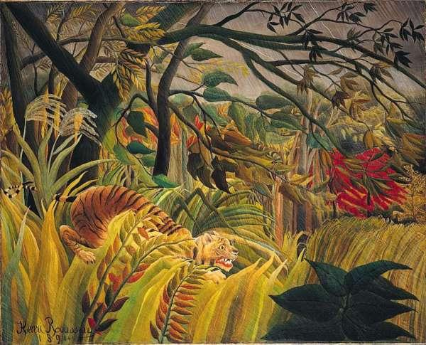 London National 18 Henri Rousseau - Tiger