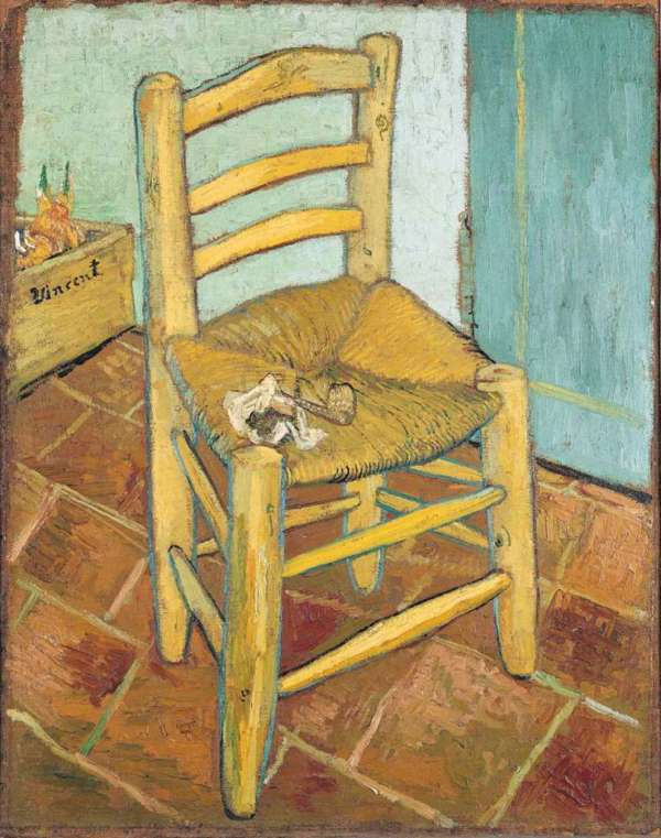 Vincent Van Gogh Chair Painting