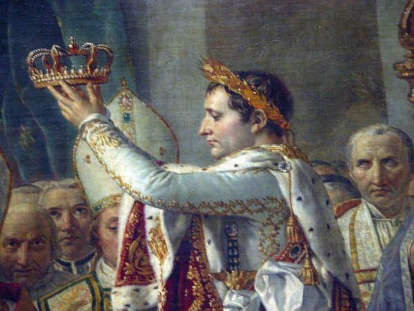 Jacques-Louis David Napoleon Paintings