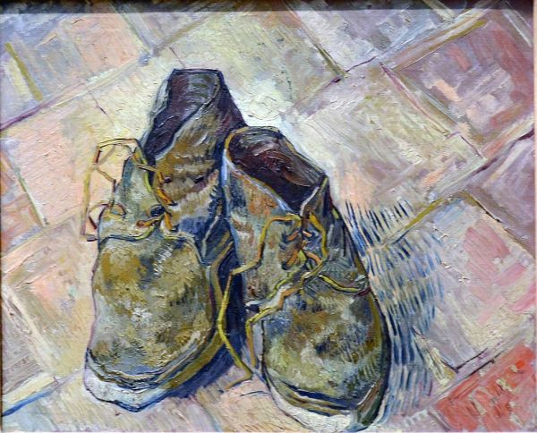 Shoes - Vincent Van Gogh 1888 York Metropolitan