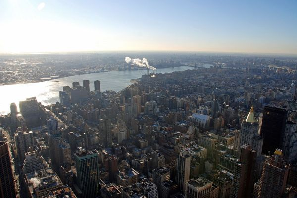 New York City Empire State Building View
