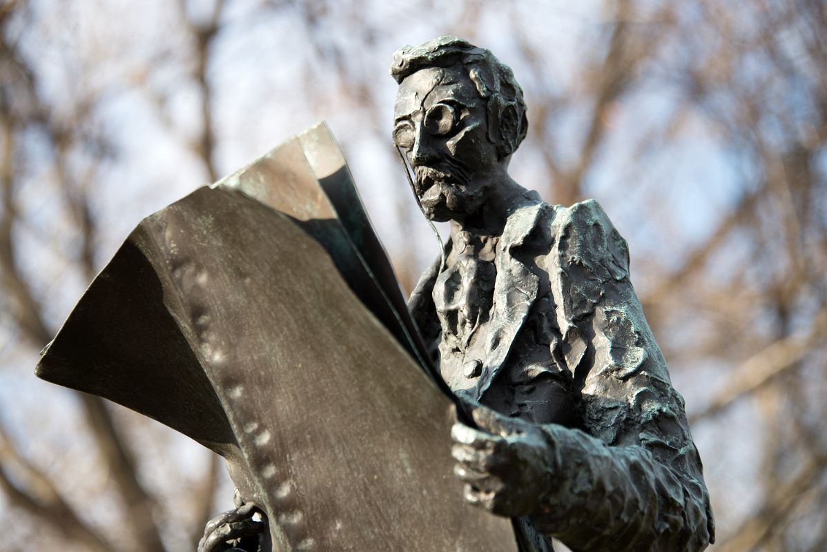Image result for pulitzer statue