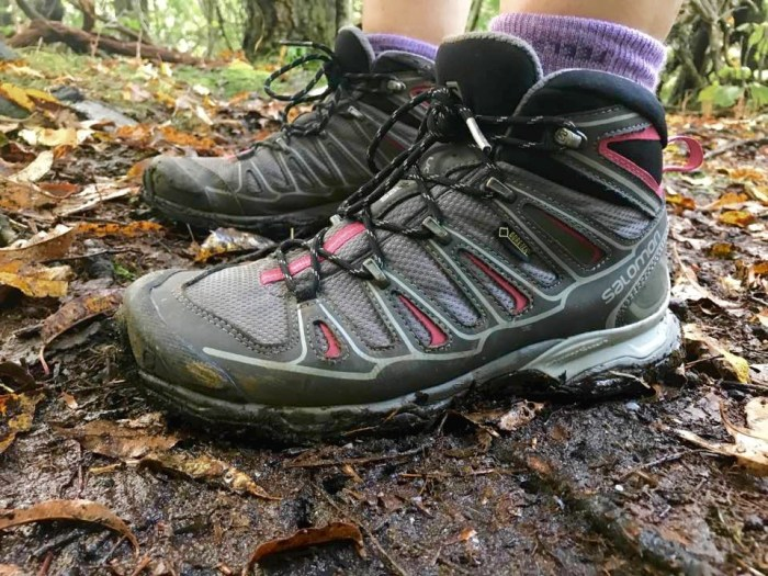 check out 887a7 21c16 Gear Review: Salomon X Ultra Mid 2 GTX Hiking Boots ...