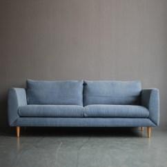 Sofa Box Cushion Covers Diamond Majestic Bed Bleu - Mountain Teak