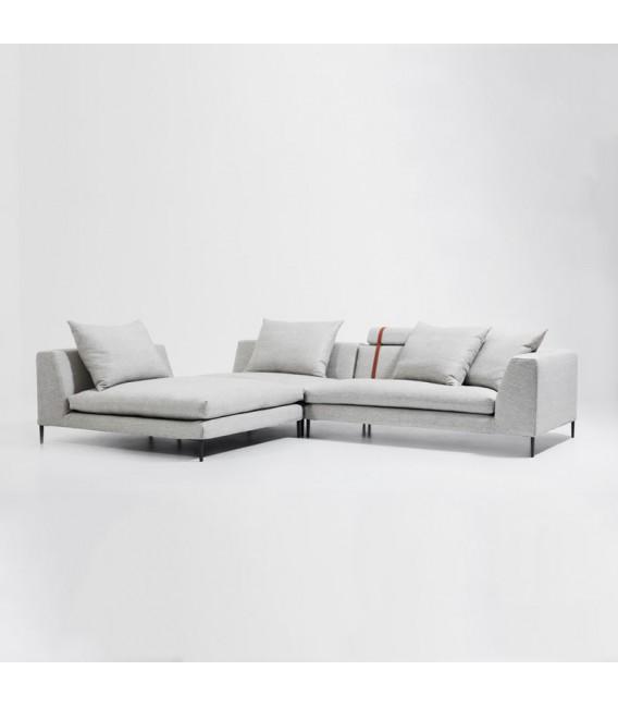 sofa seat cover singapore queen size memory foam bed peak l-shaped modular - mountain teak