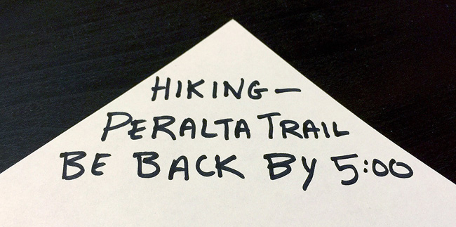 Hiking Note