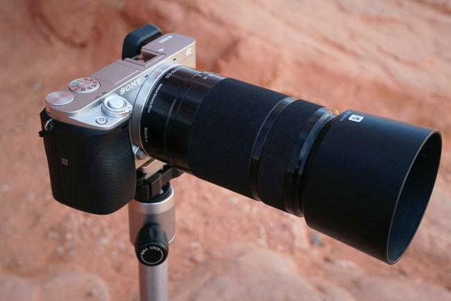 sony e mount telephoto lens