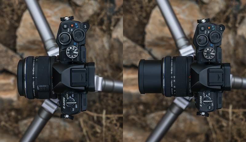 olympus 14-42 collapsible lens