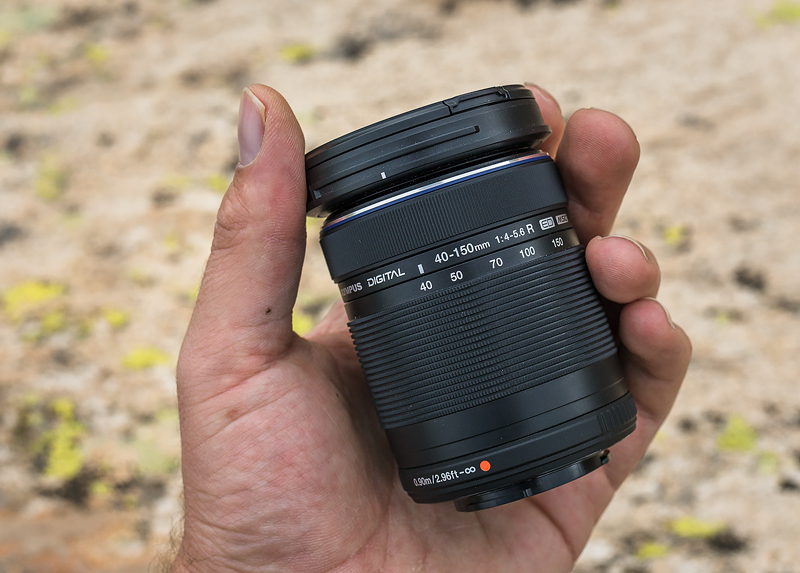 oly 40-150mm small size