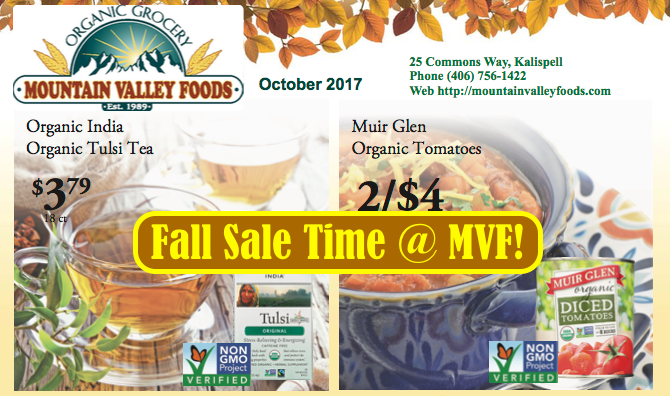 🍁 Harvest Time SAVINGS in October ✳️