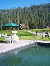Hot Spring Pool at Drakesbad Guest Ranch – Mt. Lassen Volcanic National Park