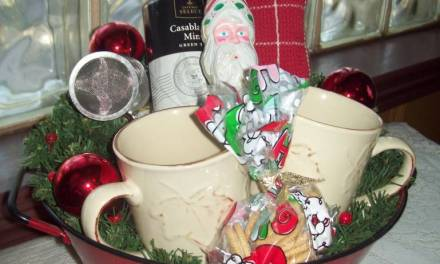 Christmas Tea Basket