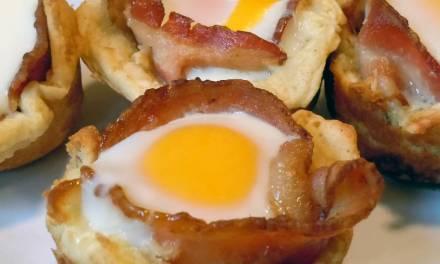 Breakfast Bacon Cups Recipe