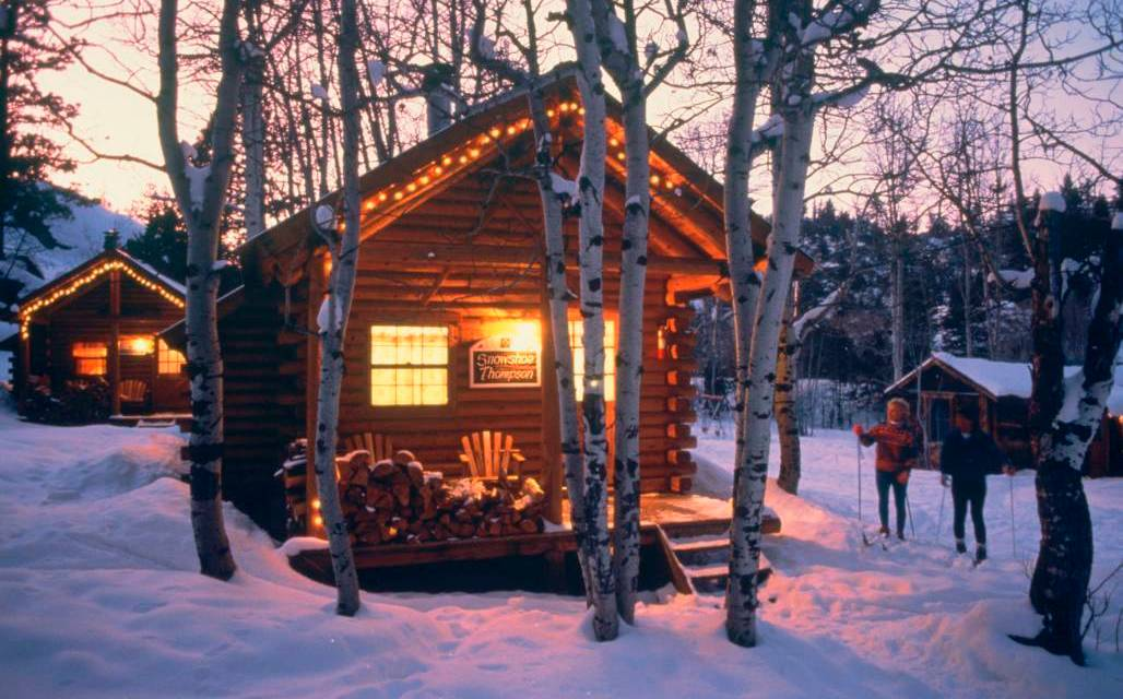 A Christmas Cottage in the Woods Sorensen's Resort Hope Valley, CA