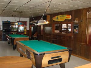 Golden West pool table room